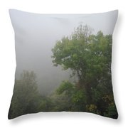 The Mists Throw Pillow