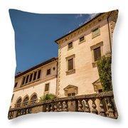 The Modest Dwelling Throw Pillow