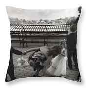 The Mom Throw Pillow