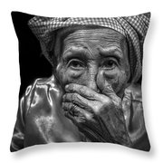 The Moment Is Full Of Surprise  Throw Pillow