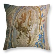 The Monastary Throw Pillow