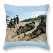 The Monuments Men Throw Pillow