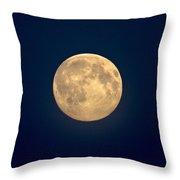 The Moon 1 Throw Pillow