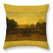 The Moon Is Up Throw Pillow