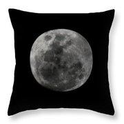 The Moon - La Luna 7 Throw Pillow