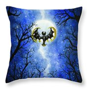 the moon of Lunala Throw Pillow