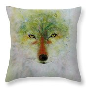 The Moon Tribe Throw Pillow