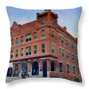 the Morgan Hotel Throw Pillow
