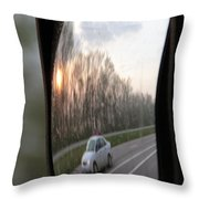 The Morning Commute II Throw Pillow