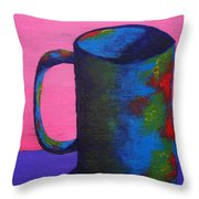 The Morning Cup Of Coffee Throw Pillow
