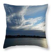 The Morning Dawn Throw Pillow