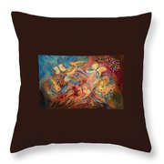 The Morning Freshness Throw Pillow