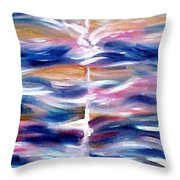 The Morning Throw Pillow