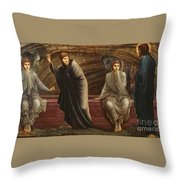 The Morning Of The Resurrection Throw Pillow