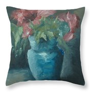 The Most Beautiful Bouquet Of Roses Throw Pillow