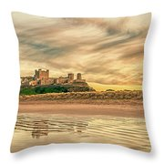 The Most Beautiful Castle In The World Throw Pillow