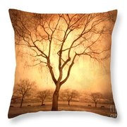 The Mother Tree Throw Pillow