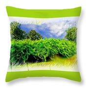 The Mother Vine - Roanoke Island, Nc Throw Pillow