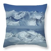 The Mount Vinson Massif 16, 059 Throw Pillow