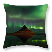 The Mountain And The Dancer Throw Pillow