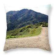 The Mountain Is Calling You Throw Pillow