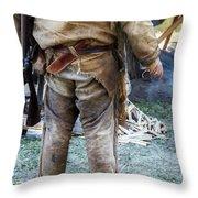 The Mountain Man Throw Pillow