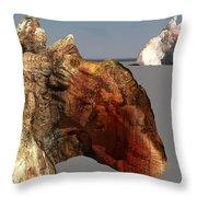 The Mountains Throw Pillow