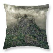 The Mountains Of Alaska  Throw Pillow