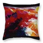 The Mountings Of The Sun Throw Pillow