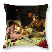 The Murder Of The Sons Of Edward Iv Throw Pillow