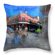 The Muriel's Of Jackson Square  Throw Pillow