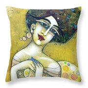 The Muse Of My 20's Throw Pillow