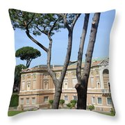 The Museum Throw Pillow