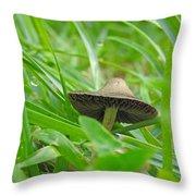 The Mushroom Throw Pillow