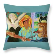 The Musician, The Big Easy Throw Pillow