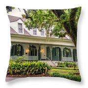 The Myrtle's Plantation -st Francisville La Throw Pillow