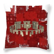 The Mystery Of Stonehenge Throw Pillow