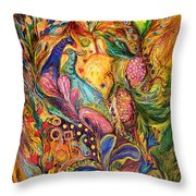 The Mystery Of Three Keys Throw Pillow