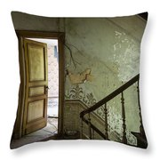 The Mystery Room - Urban Decay Throw Pillow