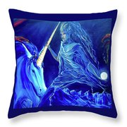 The Naeyad With Cyro Throw Pillow