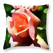 The Name Of A Rose Is Beauty Throw Pillow