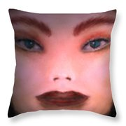 The Nameless Throw Pillow