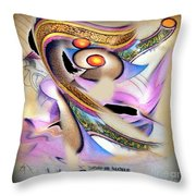 The Nata-rajah - The Great Dancer Throw Pillow