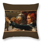 The Nation Is In Danger Throw Pillow