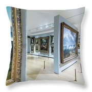 The National Gallery London 6 Throw Pillow