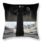 The National Museum Of Anthropology 2 Throw Pillow