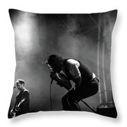 The National Performing At Hyde Park London Throw Pillow