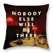 The National Print Throw Pillow