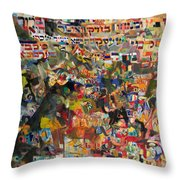 The Nations' Claim Throw Pillow
