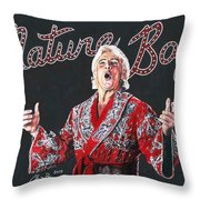 The Nature Boy, Ric Flair Throw Pillow